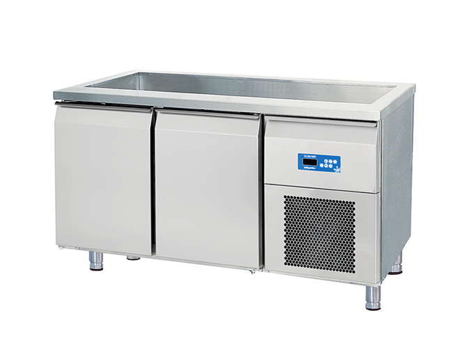 Counter Type Refrigerator With Pool